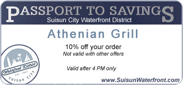 Suisun City Passport to Savings card